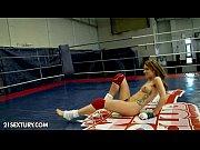 Nude Fight Club Presents: White Angel vs Leyla ...