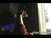 Молодая красавица в чулках видео