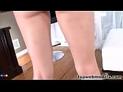 Teen Bella Nicole Black Sucks a BIg Cock POV Style