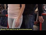 Porn Star Bonnie Shai gropped in the Bus Free