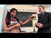Hot Cheerleader Slut Fucks Her Teacher!