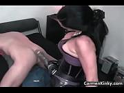 Порно сиськастую девку ебут толпой