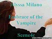 alyssa milano showing her nude body