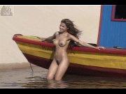 gyselle soares bbb8 making of Naked Models