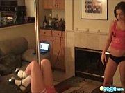 Lesbian teen gfs stripper pole dancing