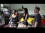 Азиатки делают массаж друг другу видео