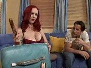 redhead milf ms berlin seduces younger man