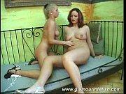 Блондинка и большой черны член
