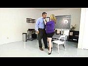 Sexy BBW Busty Boss Kimmie Kaboom Fucks Her Stu...