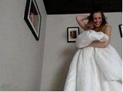 Видео что у невесты под платьем