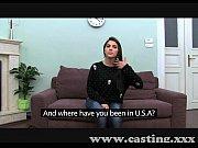 Руская девушка говорит шас кончю видео