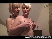 Секси кастинг в студии где много людей