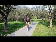 Picture Jeny Smith seamless pantyhose suit public fl...