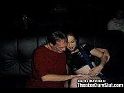 Lactating Stripper Slut Fucks Entire Porn Theater!