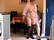 Horny Grandma And Grand...