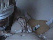 Посмотреть как девушка в чулках бьет ножками мужику по яйцам видео фото 565-481