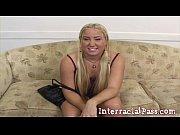 Little Blonde Teen Jassie Takes Boz's Monster BBC!