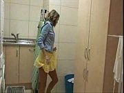 friends enjoy washing machine