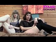 Группа девушек-русских-заставляют лизать у них и трахают страпоном по русски