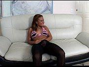 У девушки чувствительный анус видео