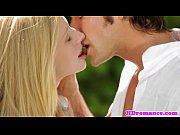Attractive amateur couple sensual loving