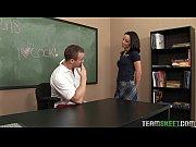 seksikas koolitüdruk jada stevens saab oma trimmitud tuss nikutud tema õpetaja
