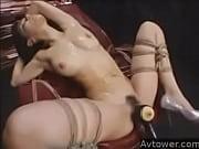 ハーフ女優、小澤マリアが緊縛されてGスポットを刺激されて大潮吹き