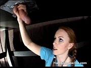 Пикапер снимает кавказскую девушку