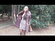 Picture Young czech babe sucks cock in the street fo...
