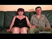 Brunette mature chubby slut gets her