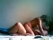 Порно секс через ткань трусов