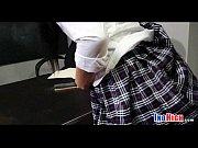 Сисястую азиатку трахают в библиотеке