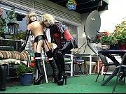 Лесбиянки в общественном месте