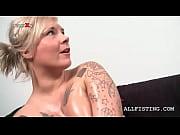 Трах в попу шикарной блондинки