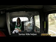 Santa babe Jess drilled with perv driver in a t...