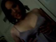 můj bývalý blikající vačku pak ukazuje její prsa