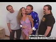 Slut Wife Sherry's Group Sex Tampa Bukkake Slum...