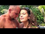 Парень трогает в грудь девушки порно