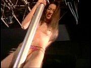 Hot pole dance