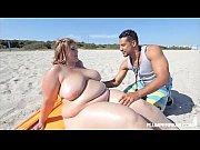 amazon ssbbw erin green bangs fan at the beach