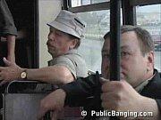 fucking bus Public