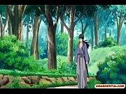 囚われ拷問された挙句2人からお口・おアソコを凌辱婦女暴行される美しい少女剣士 【レイプ】