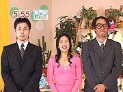 フェラーリ 杉崎夏希 アナウンサーがメイド服に着替えて連続フェラーリ抜き 日本人ビデオ【フェラ】