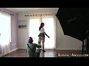 видео секс с молодой русской грудастой блондинкой