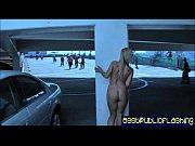 Tara Lynn Fox - Flashing In Only Stockings and ...