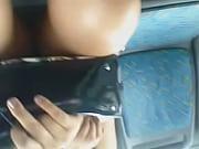 Flagra calcinha da gordinha no onibus em Curitiba