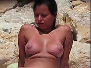 Gostosa na praia de Tambaba