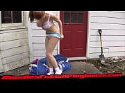 Порно женская мастурбация с бусами