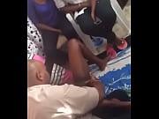 Сын поставил мать возле раковины и трахнул