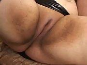 Hot BBW goth girl enjoy...